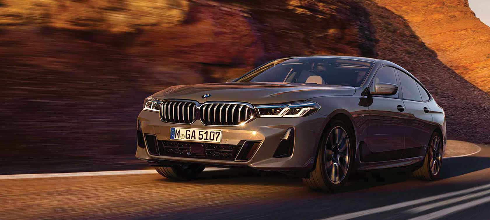 The BMW 6GT